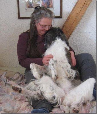 Schmusehund Barsoi - loving borzoi